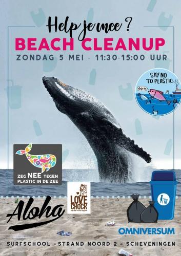 Lovechock creates clean up flashmob